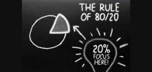 Das Pareto Prinzip, die 80/20 Regel