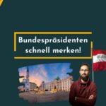 SLP88: Die österreichischen Bundespräsidenten merken, so geht's viel schneller!