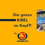 SLP97: Im Hitradio Ö3: Florian auf die Probe gestellt, hat er die Bibel im Kopf?